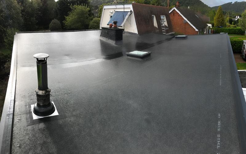 Flat Roof Slide 1