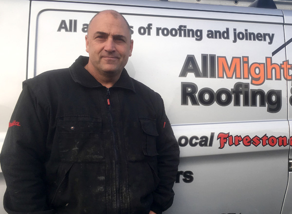 Simon Robinson - Allmighty Roofing Chester
